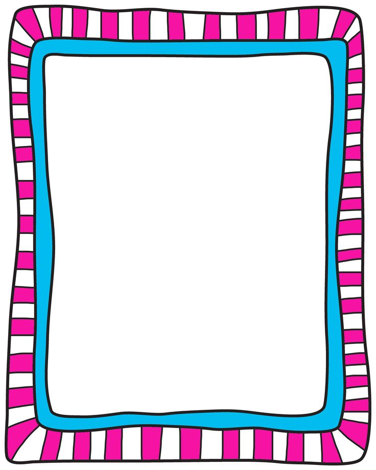 backgrounds clip art frames my cute graphics - 736×920
