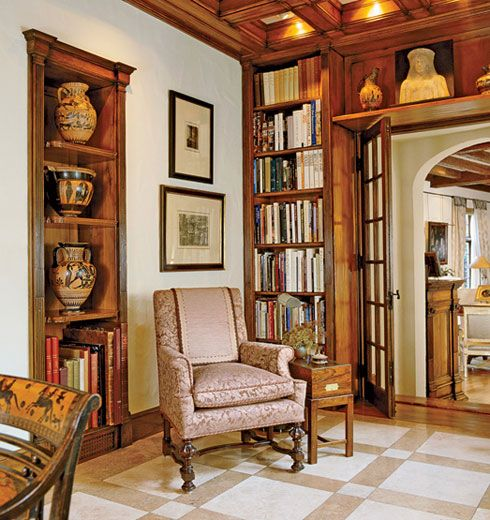 Home Office Library Design Ideas: 17 Best Ideas About Small Home Libraries On Pinterest