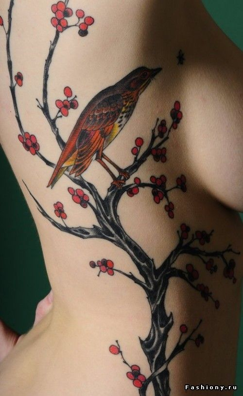 Tattoo / бантик на шее тату