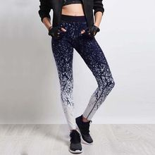 Yoga Pants Women Sports Clothing Chinese Style Printed Yoga leggings Fitness Yoga Running Tights Sport Pants Compression Tights