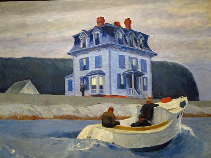 Edward Hopper (American, American Realism, 1882-1967), The Bootleggers, 1925. Oil on canvas, The Currier Museum of Art, Manchester, New Hampshire, USA.