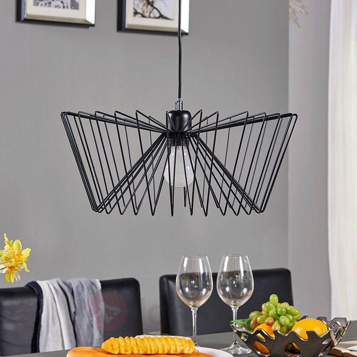 Metalowa lampa wisząca Davido w stylu vintage 9620895