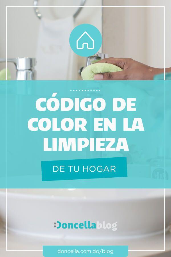 Codigo De Color Para La Limpieza De Tu Hogar Doncella Blog