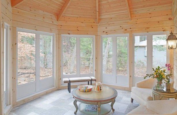 plastic window panels for a porch   Porch Enclosures   Harvey Building Products