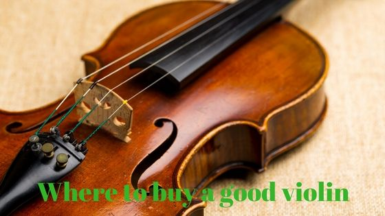 Where buy good violin - helps you find good violins for sale online. You will also learn how to find a violin for a beginner, and how to find the right size