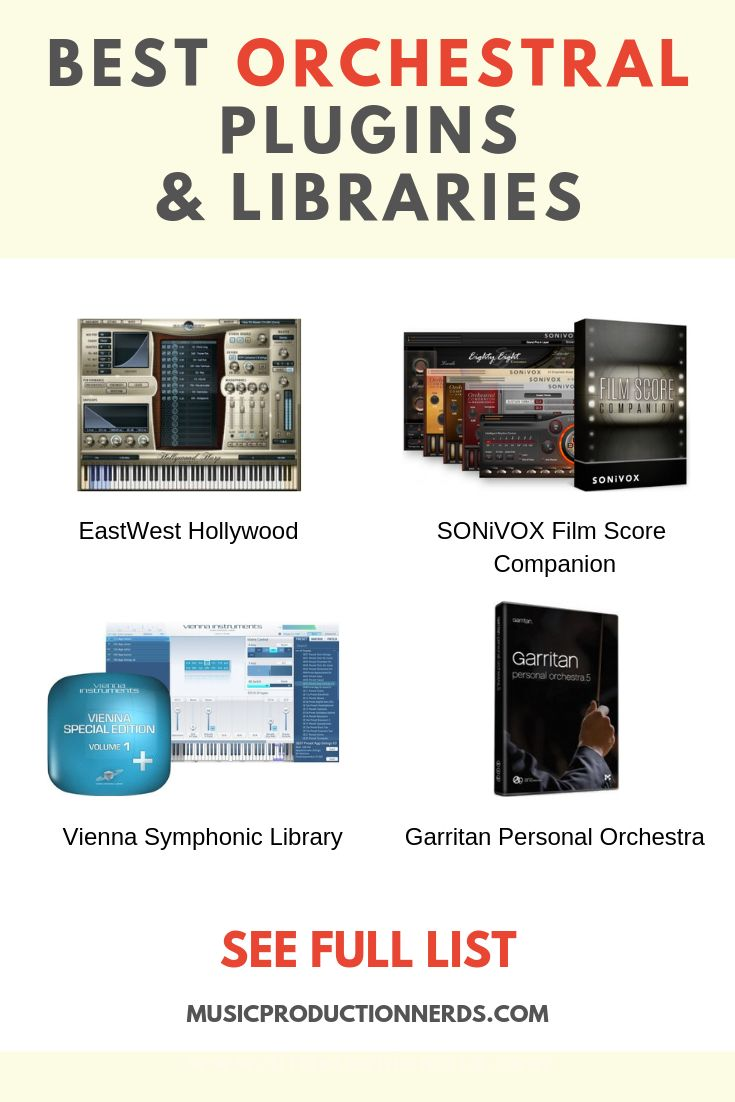 The best orchestral plugins and libraries are equally