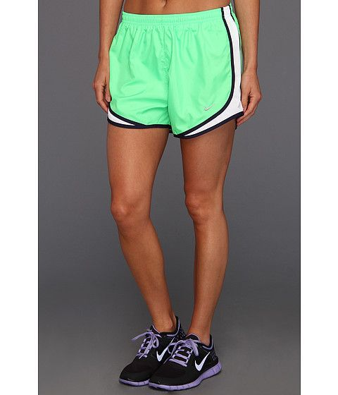 Nike Tempo Short Poison Green/White/Blackened Blue/Matte Silver -