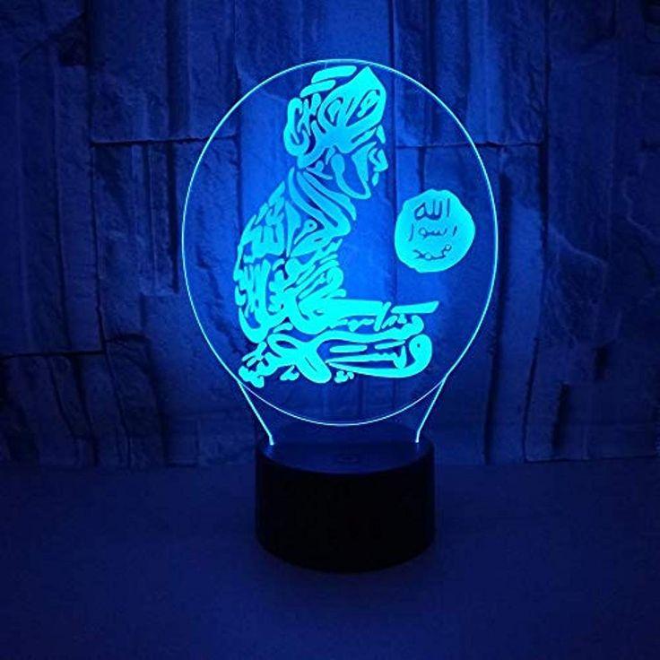 3d Visuelle Nachtlicht Papagei Manner Licht Led Nachtlicht Kinder Touch Usb Kreative Tischlampe Baby Schlaf Beleuchtung Ge Nachtlicht Fur Kinder Led Nachtlicht