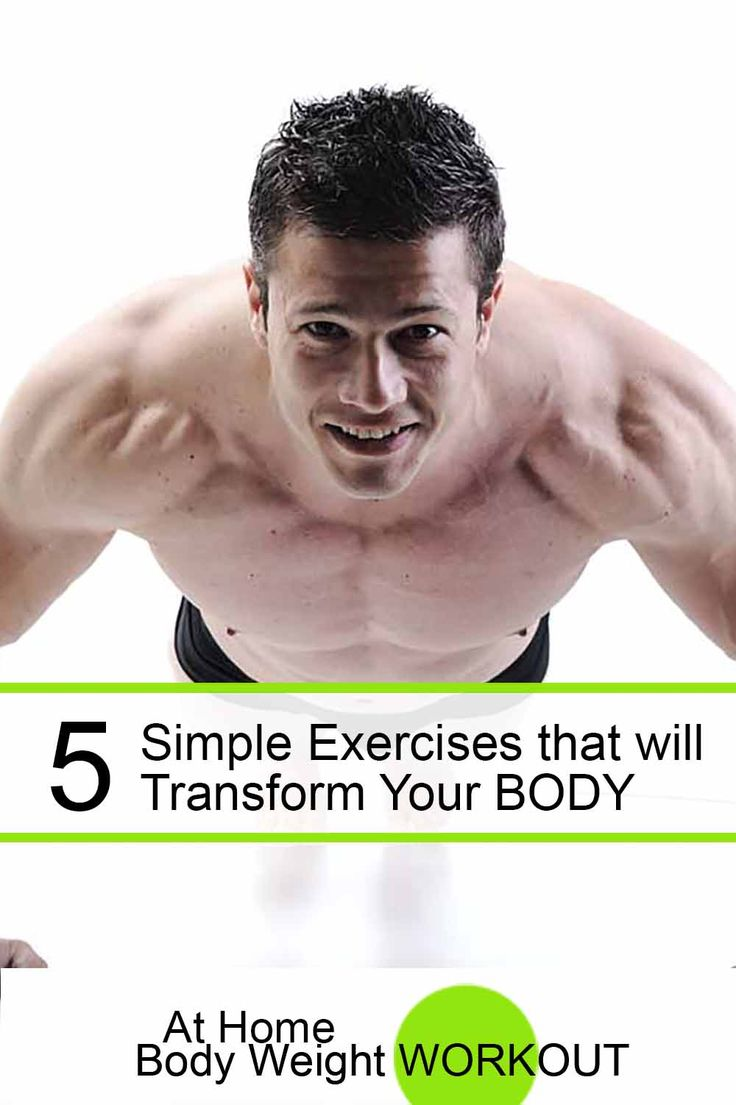 A great article on 5 simple exercises that will transform how you look and feel. Read it here: http://athomebodyweightworkout.com/5-simple-exercises-will-transform-body-just-four-weeks-fitness-power/