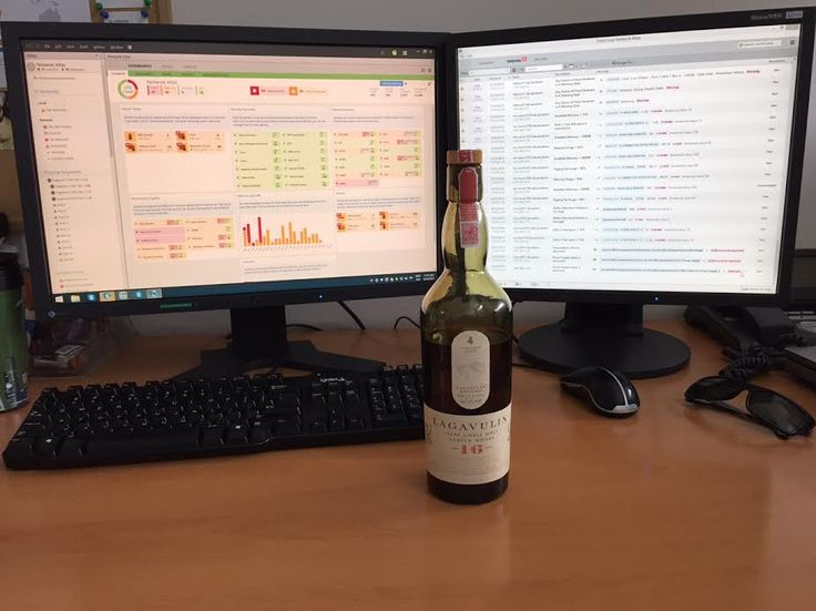 What's your whisky of choice network administrators? We've currently got ourselves a bottle of Lagavulin 16 on hand.  #sysadmin #netadmin #devops #lagavulin #scotch #whisky