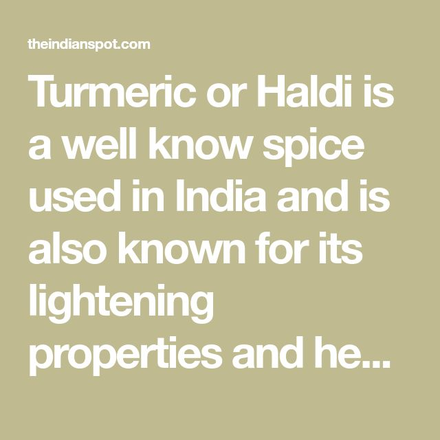 Get rid of Dark circles with Turmeric | Turmeric, Dark ...