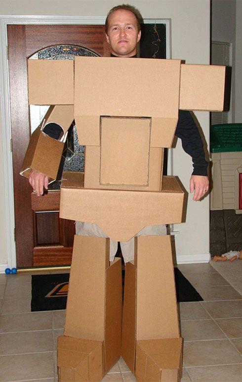Megatron Transformer Homemade Costume