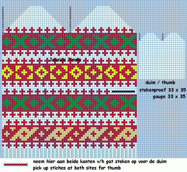 bohus like mitten want (3).png (777×715) мужские норвежские варежки