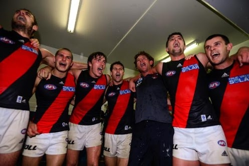 Essendon Football Club.  Essendon, Melbourne_Australia