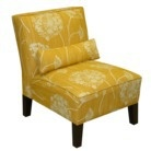 yellow accent chair at target $239.99 on sale