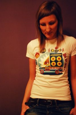 Ba Ba Boom All Stars Sound System T-Shirt for these girls who love play the music from the vinyls