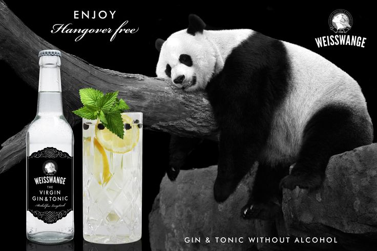 Weisswange The Virgin Gin & Tonic The first alcohol free Gin & Tonic