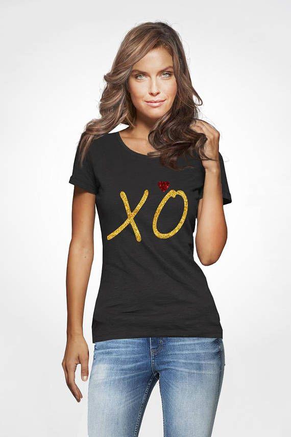 XO Shirt Valentine day shirt Womens XO tee Love Shirt Hugs and