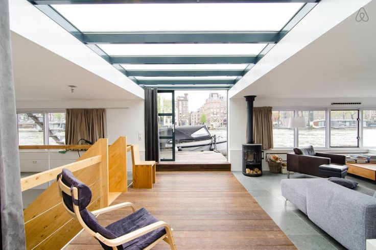 Check out this awesome listing on Airbnb: Unique Houseboat Amsterdam Center in Amsterdam