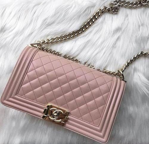 blush chanel bag, Chanel bags and shoes collection http://www.justtrendygirls.com/chanel-bags-and-shoes-collection/