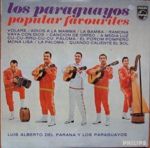 Luis Alberto del Parana y Los Paraguayos – Los Paraguayos - Popular Favourites  SBL.7724  Płyty Winylowe