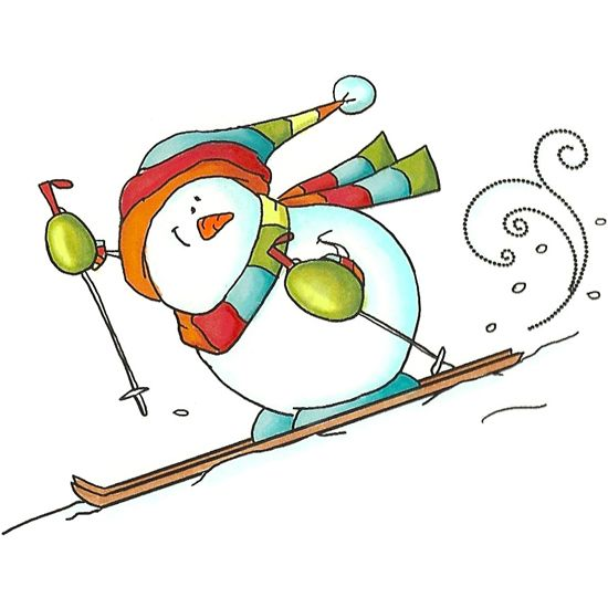 Downhill Snowman