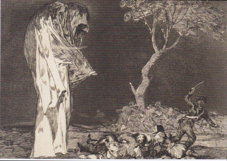 Francisco Goya, The Folly of Fear