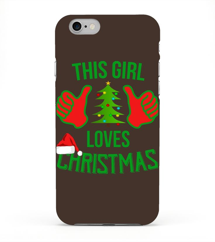 Christmas T-shirt - This Girl Loves Christmas - Xmas Lovers  Funny Christmas T-shirt, Best Christmas T-shirt