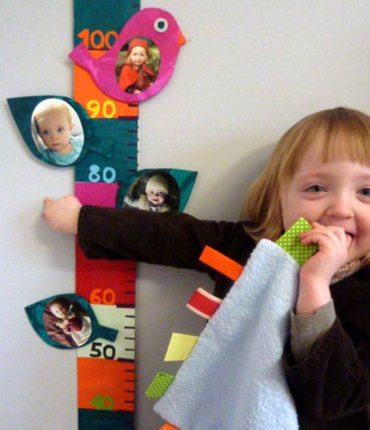 fabriquer une toise enfants http://www.grandiravecnathan.com/bricolage/la-petite-toise-deco-photos.html