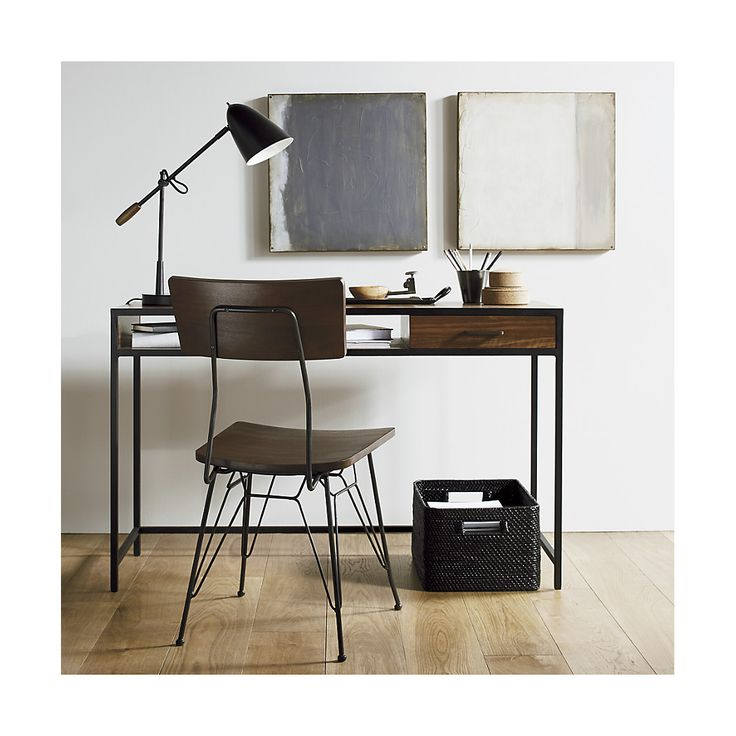 Knox Writing Desk. Crate And Barrel.