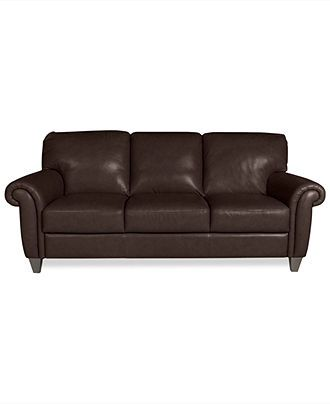 Arianna Leather Sofa