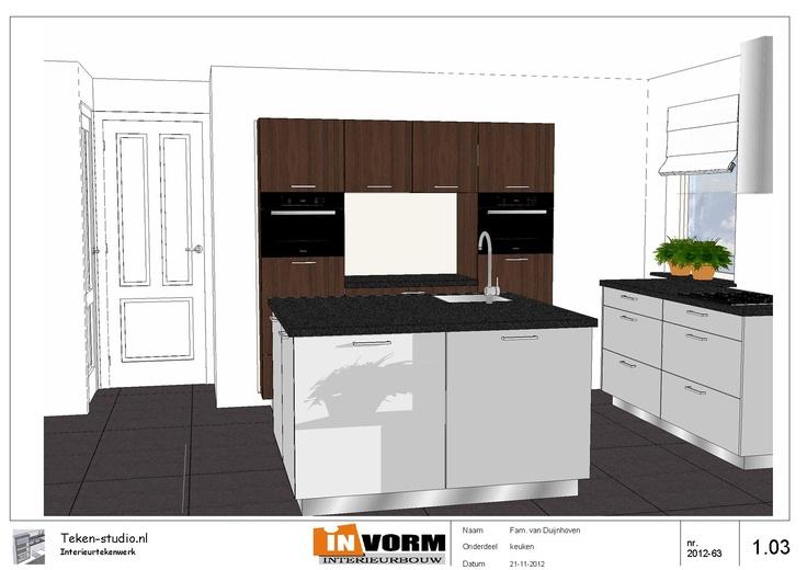17 beste ideeu00ebn over Twee Kleuren Keuken op Pinterest - Twee kleuren ...