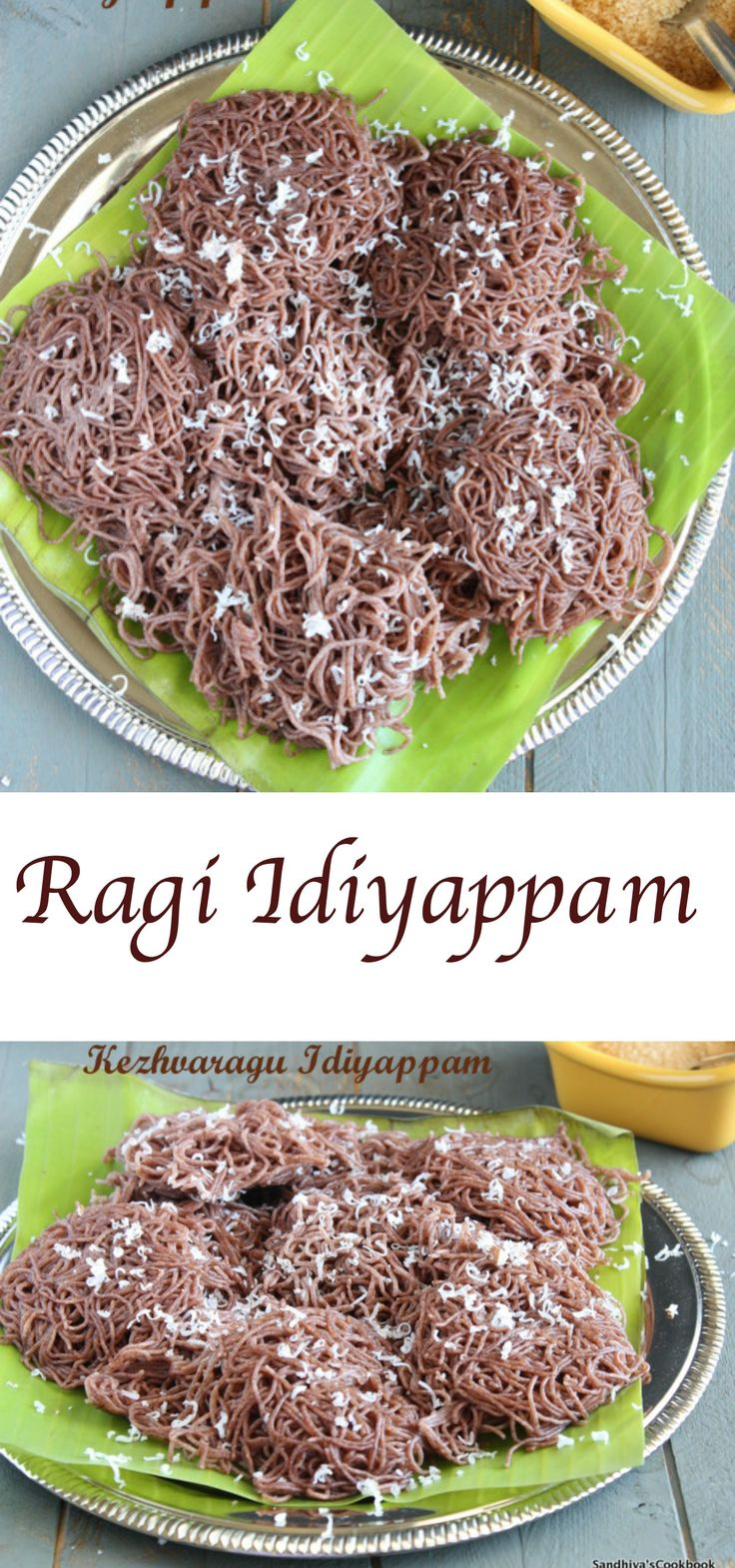 Ragi Idiyappam | Kezhvaragu Idiyappam | Finger Millet Idiyappam