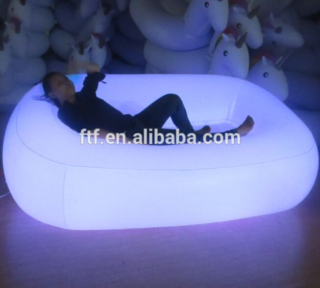 hot sell inflatable chair u0026 high quality inflatable sofa pvc infaltable lightup furniture led view self inflating inflatable chair sofa