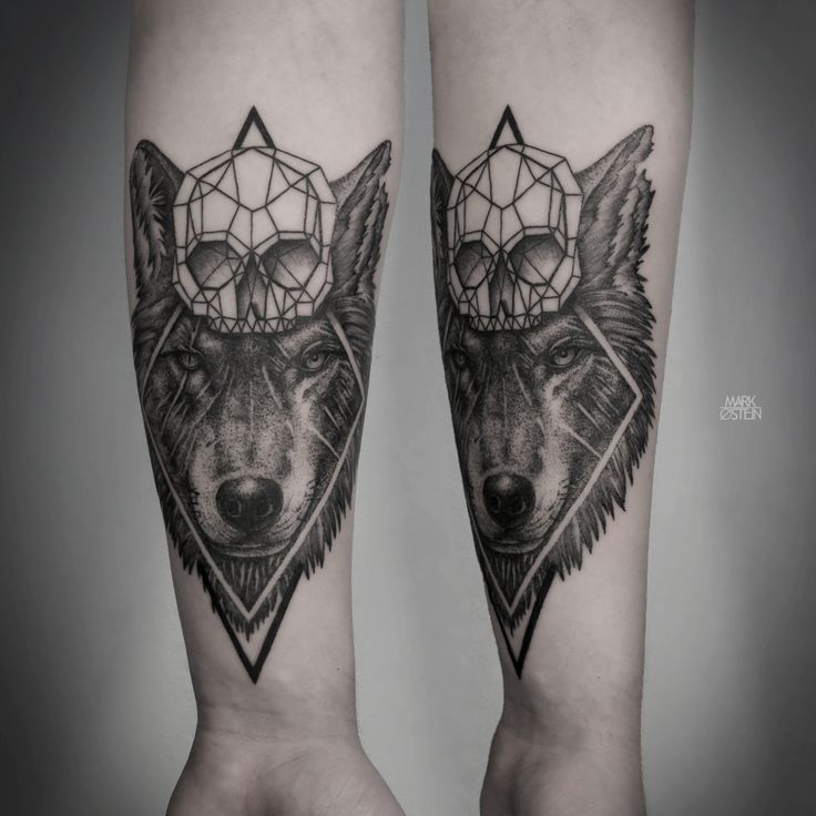 GEOMETRIC TATTOOS BY MARK OSTEIN