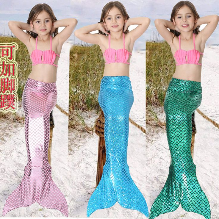 >> Click to Buy << Mermaid tail for kids mermaid tails for girls costume for swimming child swimwear for Halloween cosplay Costume #Affiliate