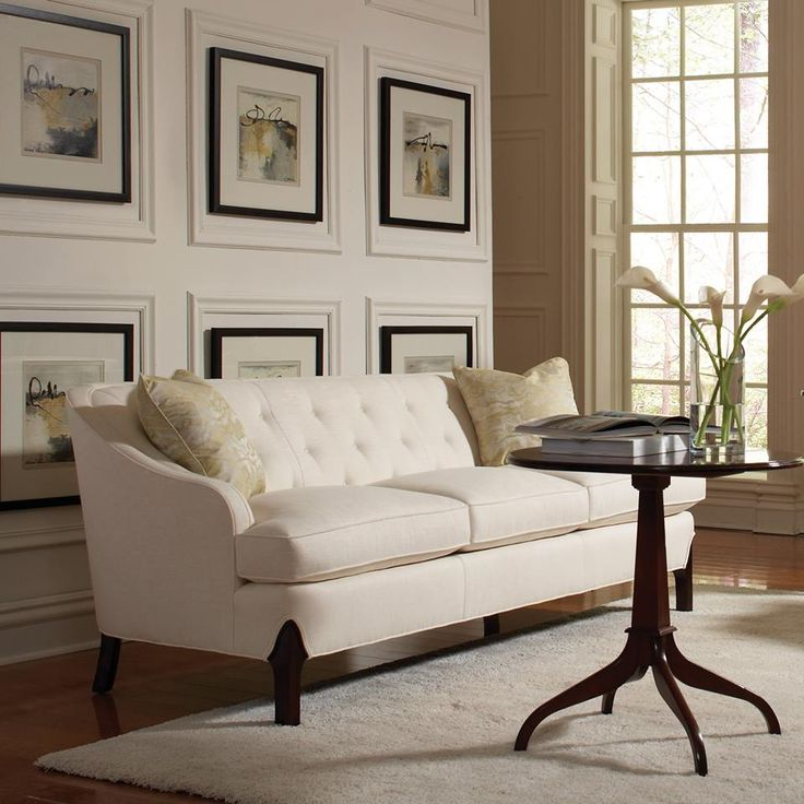 Tufted Stickley Sofa