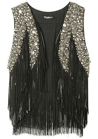 already own the vest, never thought to embellish it