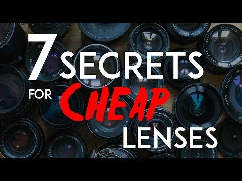 Seven secrets to buying cheap lenses online - DIY Photography