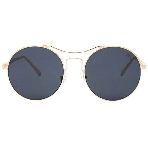 Forever21 MELT Round Mirrored Sunglasses ($28) ❤ liked on Polyvore featuring accessories, eyewear, sunglasses, aviator sunglasses, round glasses, mirror lens aviators, forever 21 sunglasses and aviator mirror sunglasses