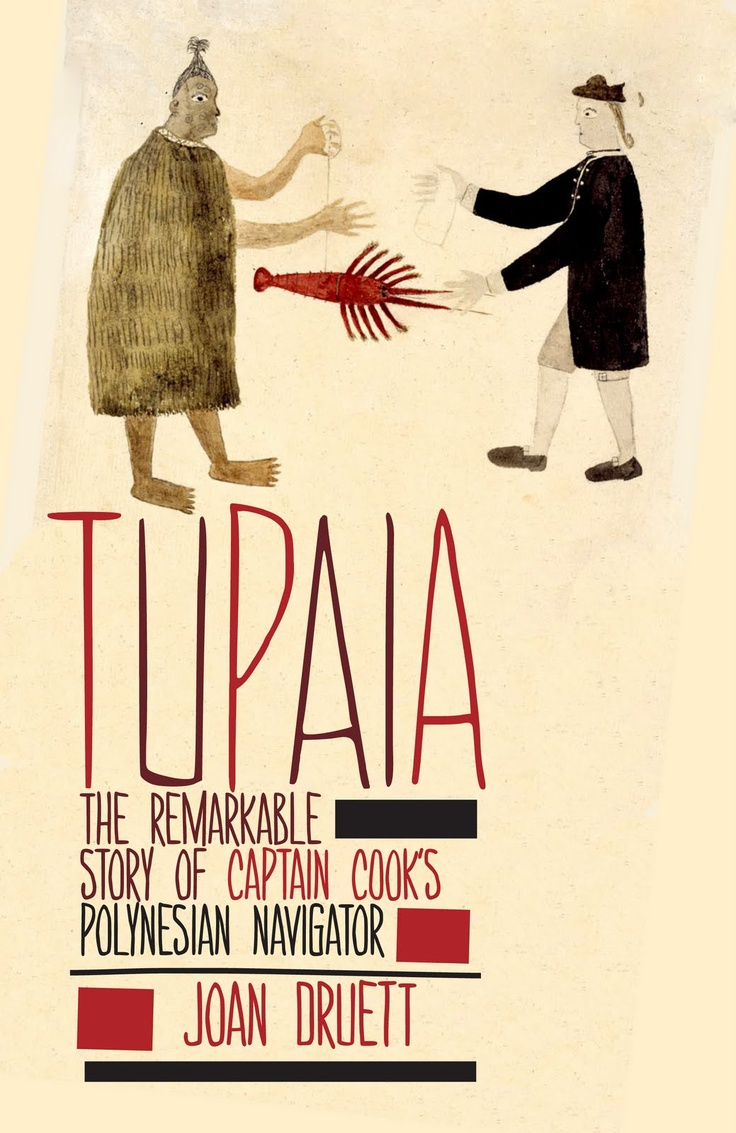 Tupaia – designed by Saskia Nicol. Just got this from library!