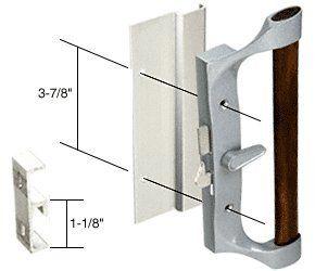 Hook Style Surface Mount Sliding Glass Patio Door Handle For Sears Doors, 3