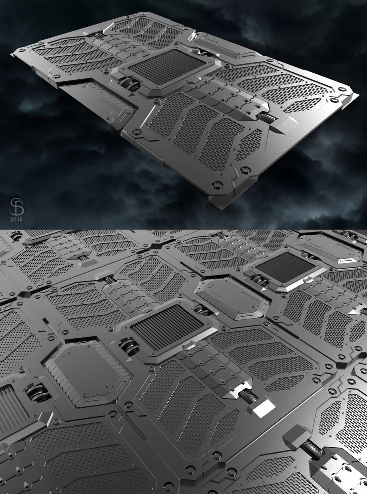 ArtStation - part of the floor to location for CYBER ISLAND action game, Seryoga Biryukov
