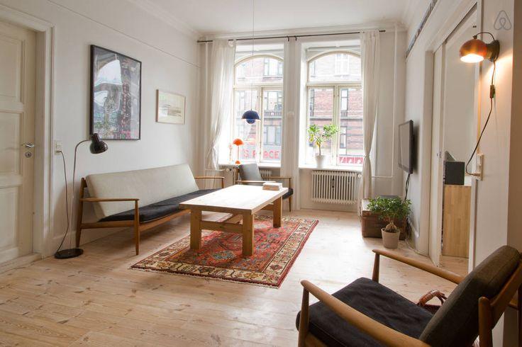 airbnb Spacious apartment in Copenhagen
