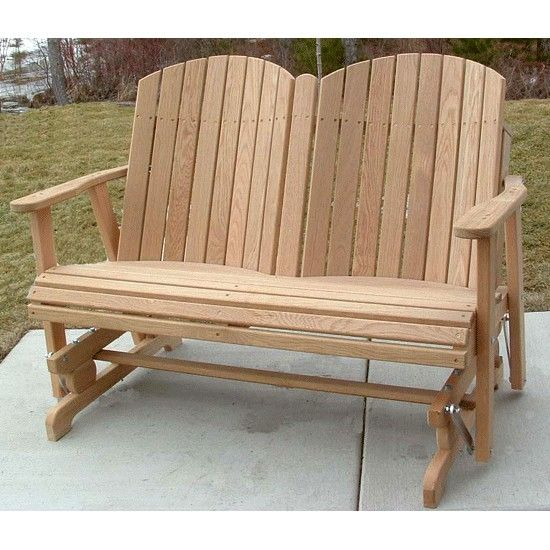 amish outdoor furniture barrel back 4ft swings and gliders