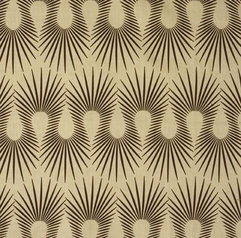 "printed linen fabric, ""Hedgehog"" in Putty Black. by Neisha Crosland"