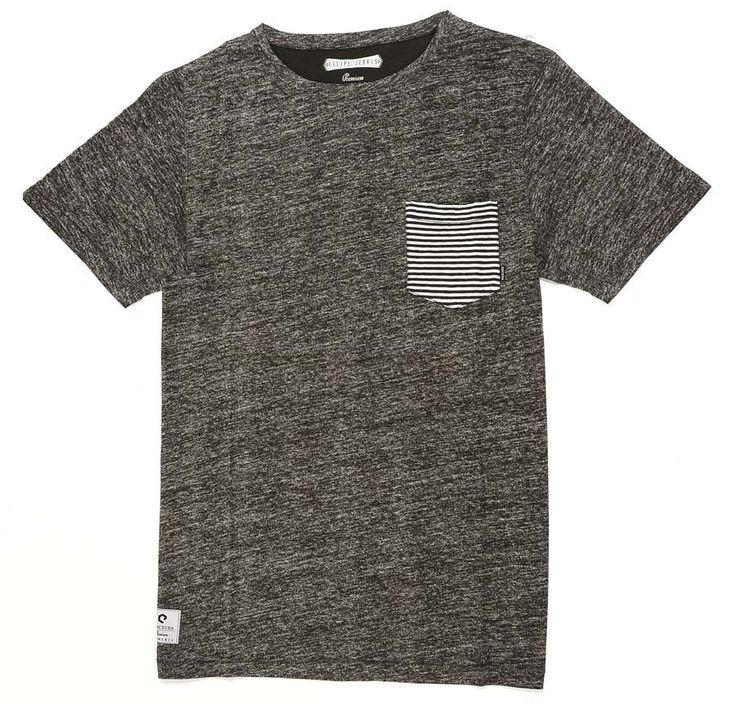 T-Shirt Fashion Ericeira Surf & Skate CAPSULE Grey