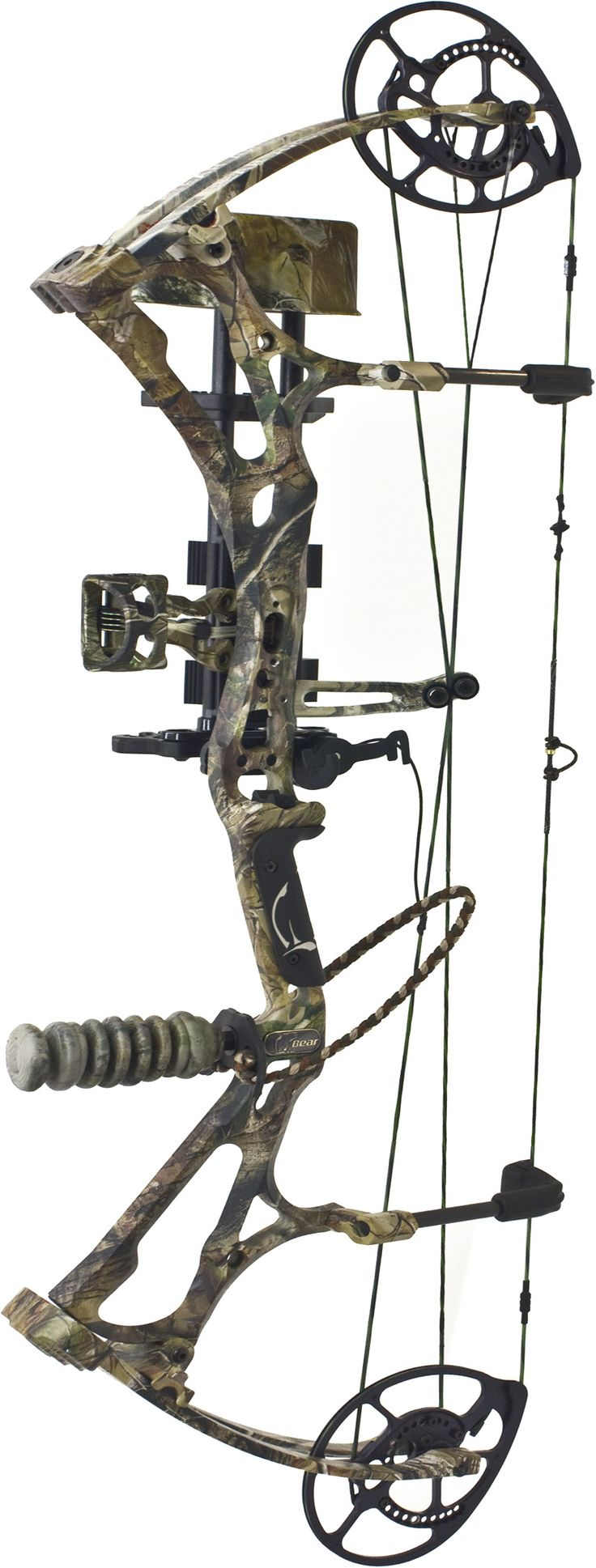 2013 Bear Motive 6, a TRUE 350 fps Killer! Complete Bowhunting Package Deal.