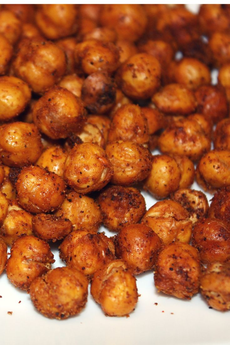 Tex Mex Roasted Chickpeas- Have you tried roasting chickpeas? Roasted chickpeas make a delicious snack even kids will enjoy. Once you add your seasonings and roast them, they become a crunchy snack that can become habit-forming...