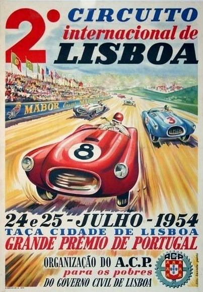 Grande Premio de Portugal 1954 Lisboa| Portugal Cars | Portugal Car Hire | Lisbon Car Hire | Faro Car Hire | Porto Car Hire - www.portugal-cars.com